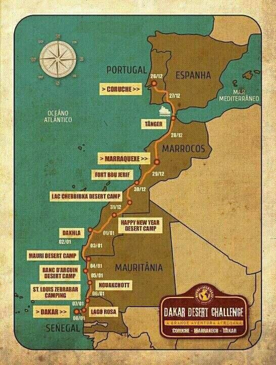 Dakar Desert Challenge 2012